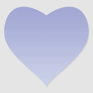 Pale Purple Ombre Heart Sticker