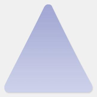 Pale Purple Ombre Triangle Sticker