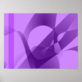 Pale Purple Poster
