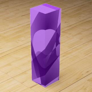 Pale Purple Wine Box