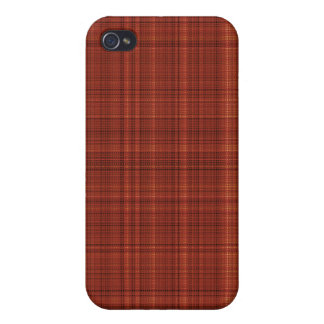 Pale Red Fabric Case for iPhone 4