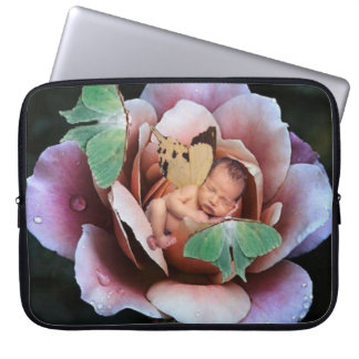 Pale Rose Fairy Laptop Cover Laptop Sleeves