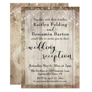 Reception Only Invitations & Announcements | Zazzle