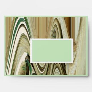 Pale Shelf Fungus Abstract Envelope