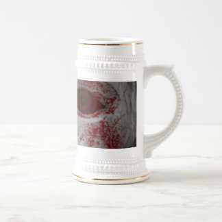 Pale Skin Doll With Blood Red Eyes Beer Stein