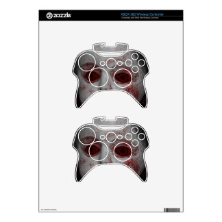 Pale Skin Doll With Blood Red Eyes Xbox 360 Controller Skin