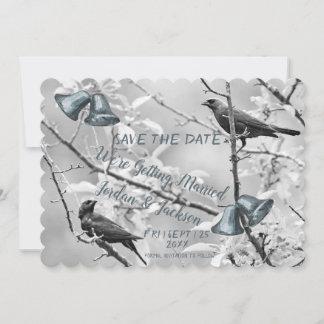 Pale Sky Bird Bells Wedding