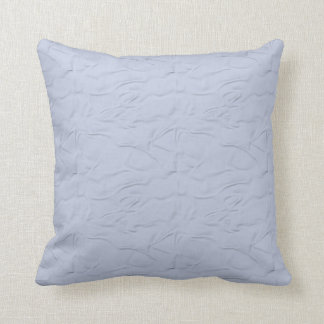 Pale Slightly Patterned Blue  American MoJo Pillow