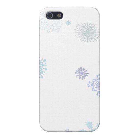 Pale Snowflakes iPhone SE/5/5s Case