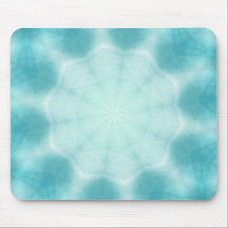 pale snowflakes mouse pad