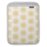 Pale Sunflower Background Pattern. Sleeve For iPads