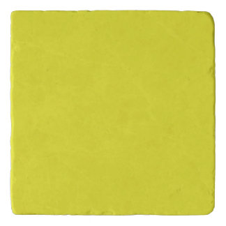 PALE SUNFLOWER YELLOW (solid color background) ~.j Trivets