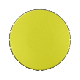 PALE SUNFLOWER YELLOW (solid color) ~ Jelly Belly Tins