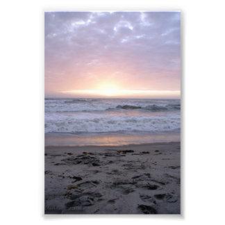 Pale Sunrise Photo Art
