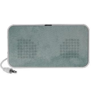 Pale Vintage Aqua Grunge Effect Old Italian Wall Travel Speaker