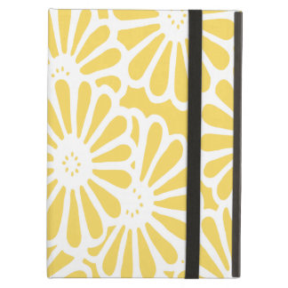 Pale Yellow Asian Moods Floral Case For iPad Air