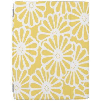 Pale Yellow Asian Moods Floral iPad Smart Cover