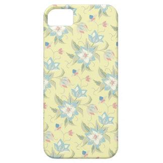 Pale Yellow Floral iPhone SE/5/5s Case