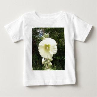 Pale Yellow Hollyhock Baby T-Shirt