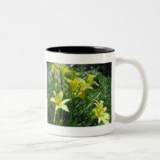 Pale Yellow Lilies Mug