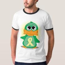 Pale Yellow Ribbon Duck T-Shirt