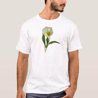 Pale Yellow Tulip Mens T-Shirt