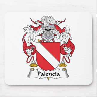 Palencia Family Crest Mouse Mat