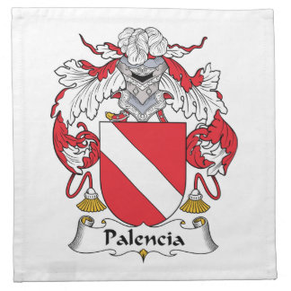 Palencia Family Crest Napkins