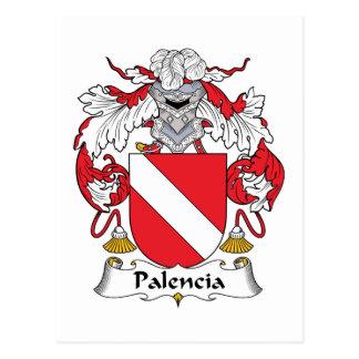 Palencia Family Crest Postcard
