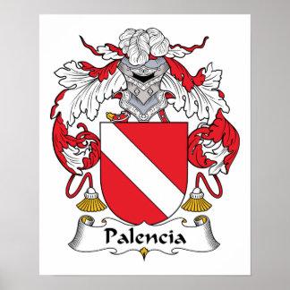 Palencia Family Crest Print