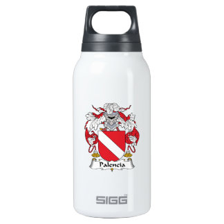 Palencia Family Crest 10 Oz Insulated SIGG Thermos Water Bottle