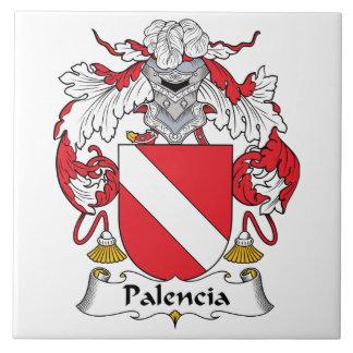 Palencia Family Crest Tiles