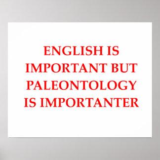 palenotology poster