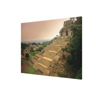 Palenque, Chiapas, Mexico, Maya Canvas Print