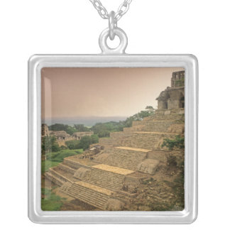 Palenque, Chiapas, México, maya Colgante Cuadrado