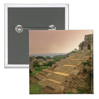 Palenque, Chiapas, México, maya Pin Cuadrado