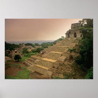 Palenque Chiapas Mexico Maya Poster