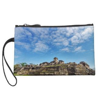 Palenque Palace View Wristlet