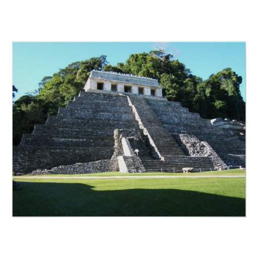 Palenque Temple of Inscriptions Posters