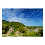 Palenque View Poster