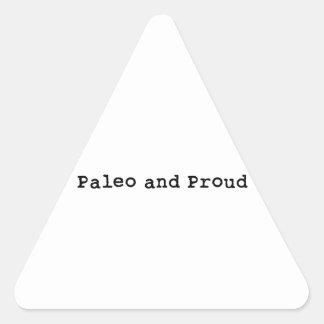 Paleo and Proud Triangle Sticker