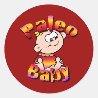 Paleo Baby Classic Round Sticker