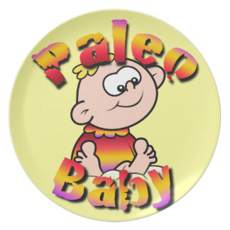 Paleo Baby Party Plate