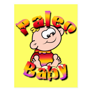 Paleo Baby Postcard
