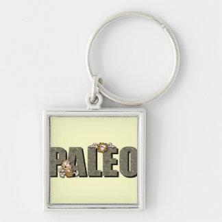 Paleo Cavemen Keychain