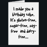 """Paleo Funny Birthday Card<br><div class=""""desc"""">This Paleo Birthday card is just the thing for those paleo people in your life.</div>"""