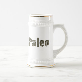 Paleo in Stone Beer Stein