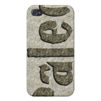 Paleo in Stone iPhone 4/4S Covers