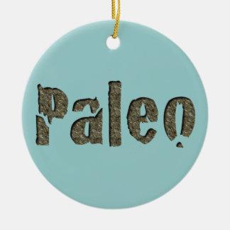 Paleo in Stone Christmas Tree Ornaments