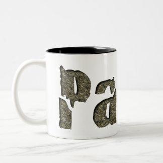 Paleo in Stone Two-Tone Coffee Mug